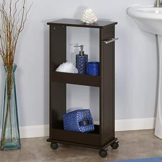 "Mercury Row Vanbrunt 15.75"" W x 32.5"" H Bathroom Shelf"
