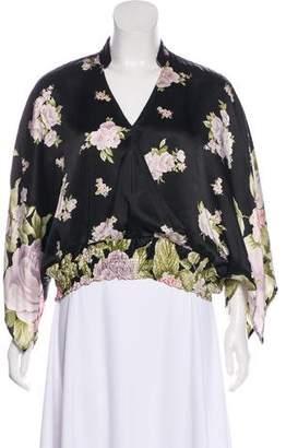 Kenzo Floral Silk Top