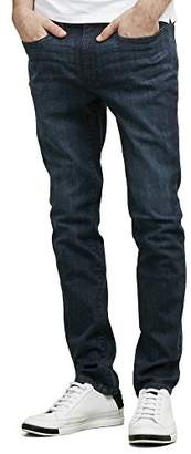 Kenneth Cole New York Men's Dk Indigo Stretch Skinny Jean