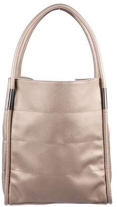 b687e3ef5022b Bronze Leather Tote Bag - ShopStyle
