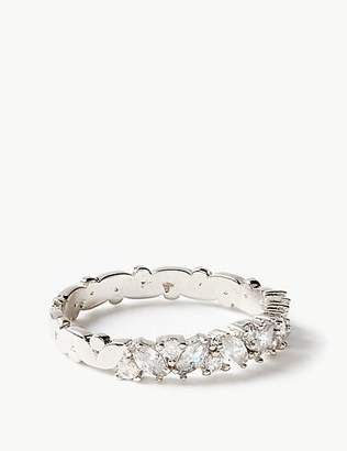 M&S Collection Platinum Plated Ring