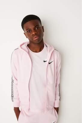 Nike Boys Pink Repeat Full Zip Hoody - Pink