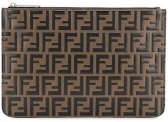 Fendi FF logo pouch