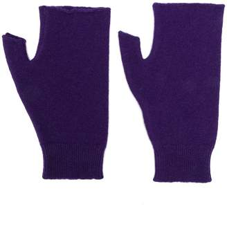 Roberto Collina cut-out gloves