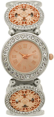 Charter Club Women's Two-Tone Stretch Bracelet Watch 31mm, Created for Macy's