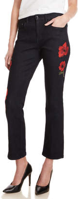 Kate Spade Broome Street Poppy Embroidered Jeans