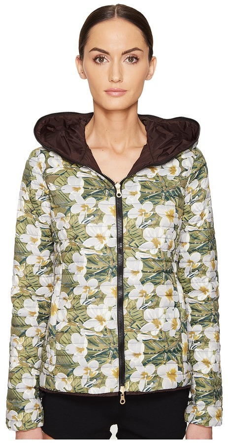 Duvetica DUVETICA - Cariatre-Erre Reversible Zip-Up Hoodie Women's Coat