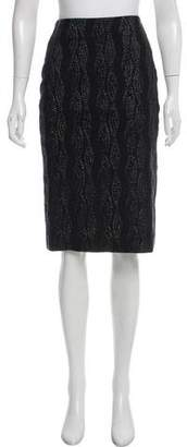 Prabal Gurung Matelassé Knee-Length Skirt