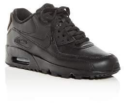 Nike Boys' Air Max 90 Leather Low-Top Sneakers - Big Kid