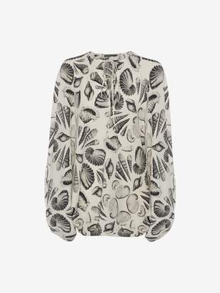 "Alexander McQueen Cabinet of Shells"" Top"
