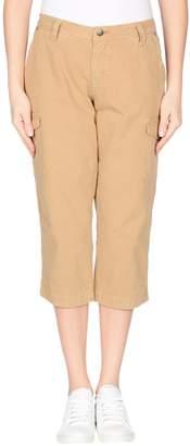 Jaggy 3/4-length shorts