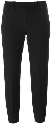 Piazza Sempione back slit cropped trousers