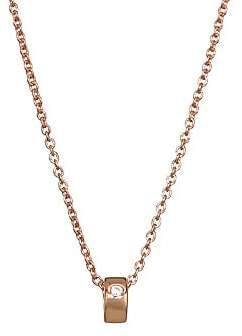 ginette_ny Mini Tube& Diamond Chain Necklace