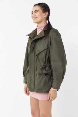 Urban Renewal Vintage Oversized Washed Surplus Jacket