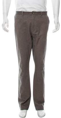 Calvin Klein Collection Woven Flat Front Pants Woven Flat Front Pants