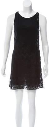 Missoni Knit-Accented Mini Dress