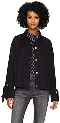 Three Dots Women's TV7441 All Weather Twill Jacket