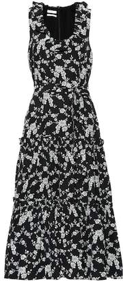 Co Floral-printed dress