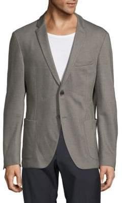 Strellson Long-Sleeve Heathered Suit Jacket