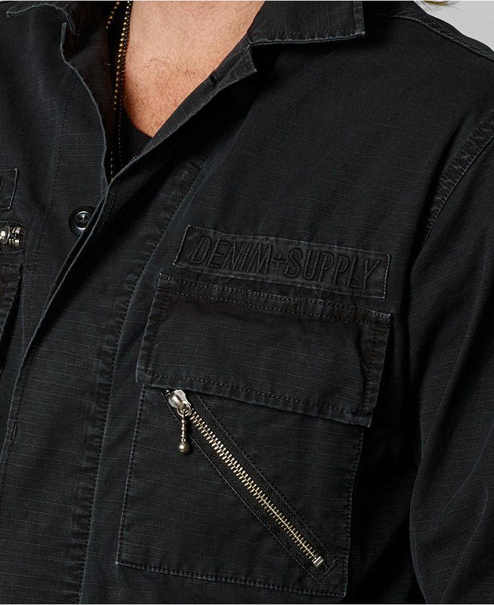Denim & Supply Ralph Lauren Four-Pocket Surplus Jacket