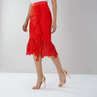 Coast Keely Lace Skirt