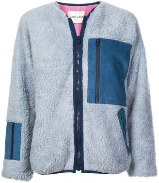 Sandy Liang Fleece Patch Jacket