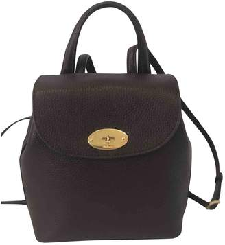 Mulberry Bayswater Burgundy Leather Backpacks