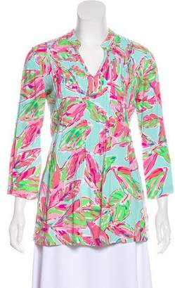 Lilly Pulitzer Printed Tunic Top