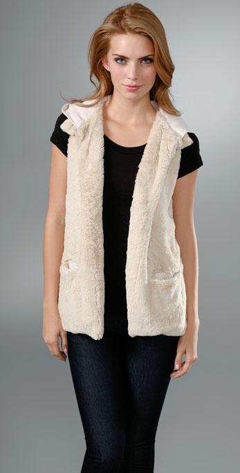 Seaton Joplin Faux Fur Vest