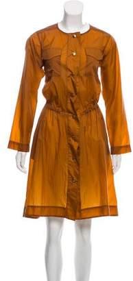 Nomia Long Sleeve Knee-Length Dress