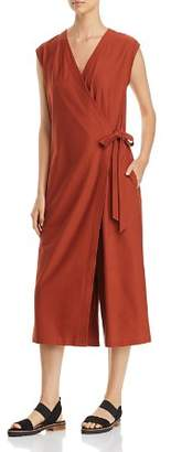 Eileen Fisher Wrap-Front Jumpsuit