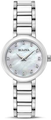 Bulova Modern Round Watch, 28mm