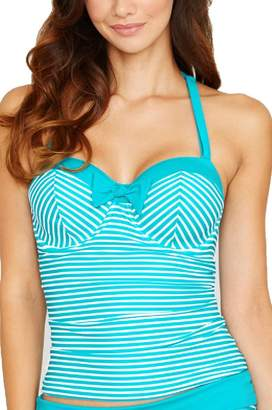 Freya Women's Tootsie Underwire Bandeau Tankini Top (D+ Cup)
