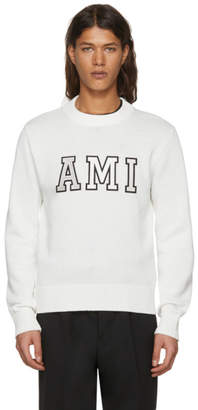 Ami Alexandre Mattiussi Off-White Logo Sweater