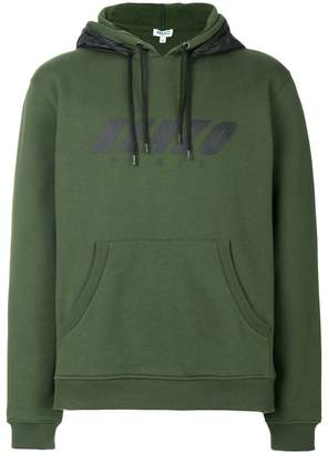 Kenzo double hooded sweatshirt