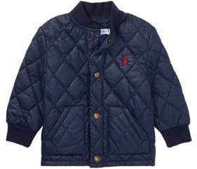 Ralph Lauren Childrenswear Baby Boy's Quilted Baseball Jacket