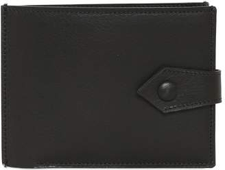 Maison Margiela Two Tone Leather Coin Pocket Wallet