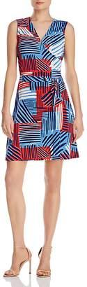 Leota Sleeveless Perfect Wrap Dress $148 thestylecure.com