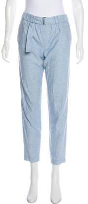 Vince Mid-Rise Straight-Leg Pants