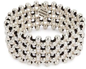 Philippe Audibert 'Max' beaded lattice elastic bracelet
