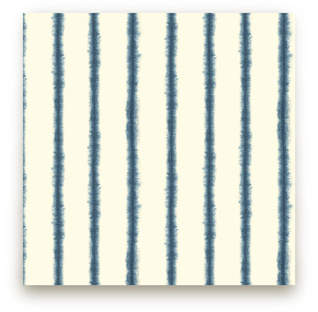 Hand-dyed Shibori Stripes Fabric