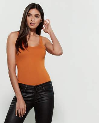 Shinestar Solid Ponte Bodysuit
