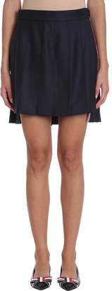 Thom Browne Striped Pleated Fun Mix Mini Skirt