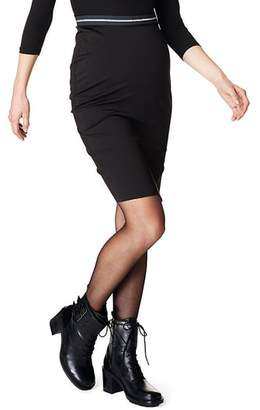 SUPERMOM High Waist Scuba Maternity Skirt