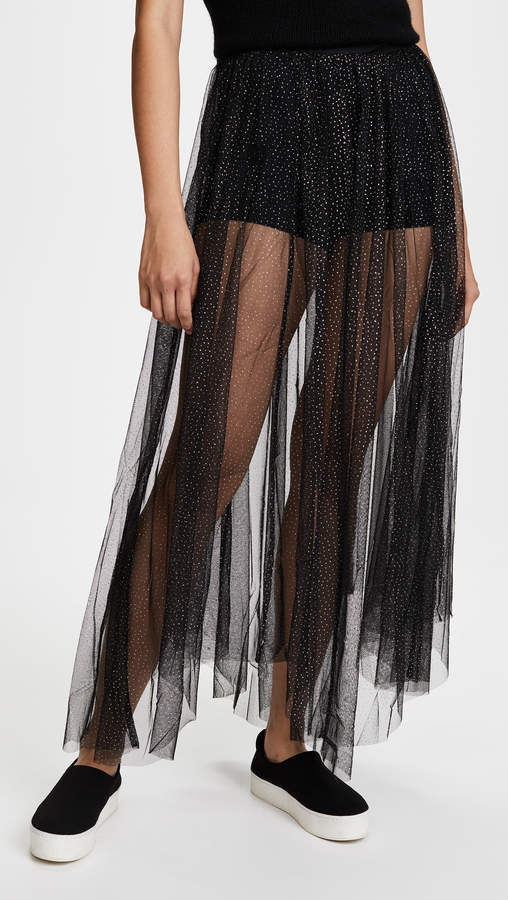 Free People Brightest Star Maxi Skirt