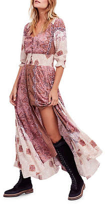 Free People Mexican Rose Graphic Dress