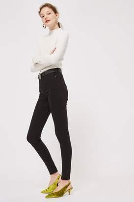 Topshop Womens Tall Black Jamie Jeans - Black