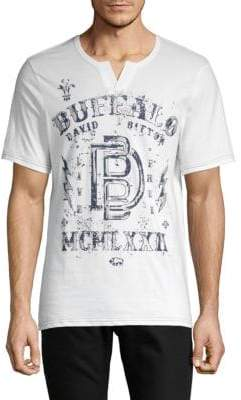 Buffalo David Bitton Cotton Graphic Tee