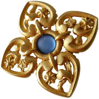 Lanvin Vintage Gold Metal Pins & brooches
