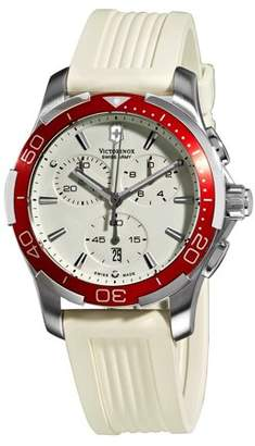 Victorinox Alliance White Chronograph Dial Ladies Watch Model 241504